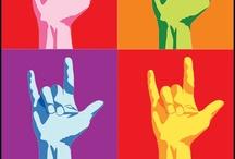 kidz ~ sign language / by Tara Bennett