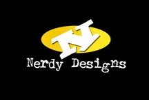 Logos we have created / Visit more designs at http://www.nerdydesigns.com / by Nerdy Designs