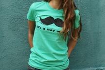 Mustache / by molly VanHorn