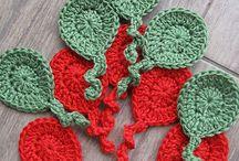 Crochet appliques / by Creame y mas