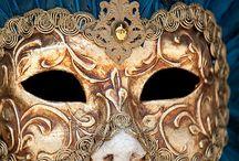 Mascaras Venecianas. / Diseño artistico. / by Esther Sanchez Miyar