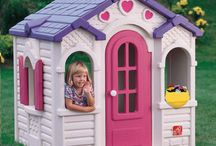 Kids Playhouses / Kids playhouses for the backyard with windows, skylights, grills, kitchenettes, and lots of space for creative activity. / by BIGTOYexpress