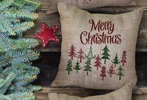 Burlap Christmas / by Karen's Treasures