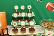 Football party ideas / by BellaGrey Designs
