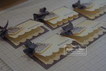 Cardmaking, placecards / by Jette Hansen