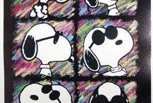 Snoopy & the gang / by stephanie Wikstrom