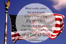 America - Patriotism - Heroism / by Jenny Griffis