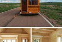 tiny house on wheels/ trailer/Mostly / by Simone LaMontagne