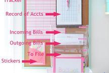 Organize! / by Sarah Stewart