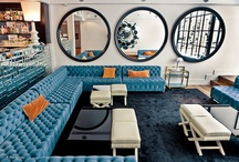 Boutique Hotels / Modern, trendy and unexpected inspiration from boutique hotel interiors. / by Melody Johnson