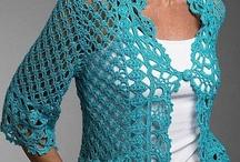 CHAQUETAS, TORERITAS...en crochet y lana / by MARIBEL DOMENECH
