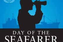 Day Of The Seafarer-Logo and Badges / Logos and Badges for the Day of the Seafrer 2012. Badges are available to bloggers who will contribute to the event, post a blog and share it with klangloi@imo.org / by International Maritime Organization