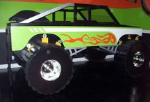 Trey's Monster Truck Room / by Christine Crawford Smith