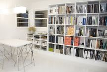 office storage / by Becca Dilley