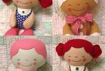 dolls / by Linda Liimatainen