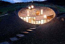 Hobbit Hole / Ideas for my underground house / by K F Butler