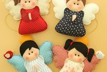 cute felt projects & patterns / by PREETHA MARIA Joseph