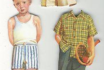 Paper Dolls: Men and Boys / by Digital Dorkette Dolls