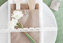 Home Decor - Table Settings / by Tiffany Burnham