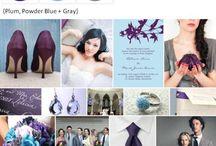 purple weddings / by Robyn Cranko Tobias
