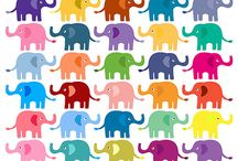 Elephants / by Ashley Stanton