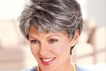 Salt&Pepper,Gray,Silver,White,Beautiful Hair / by Debbie Sirois