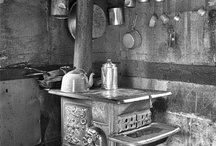 Old weathered stoves and what-not... / Old weathered, yet once useful items / by Jennifer Southard