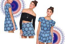 Mandala Blue / Blue Mandala Print / by Motel Rocks