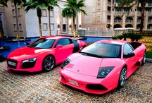my pink car obsession / by Lacey Adams