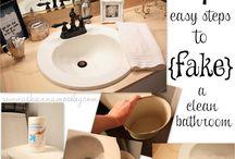 Cleaning / by Kristen Correa-Fernandez