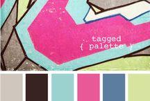 color palettes / by Kim Wong