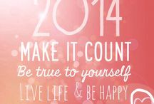 The year 2014 / Start as you mean to go on!  / by Emma Shilton