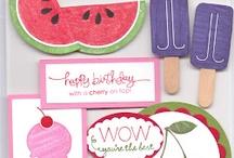 SU - Card Candy (Homemade Jolee's) / by Arlene Bridges