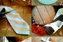Tie Love / Anything to do with using men's ties! / by Tara Moore