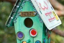 birdhouses / by Rhonda Fenner
