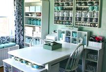 Craft room ideas / by Sara Hugosson