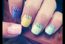Easter/Springtime Nails / by Angie Burch