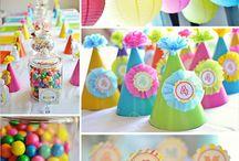 Birthday Party Ideas / by Amy Snow Tagle