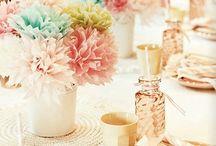 Wedding Tablescapes / by Roseann | Mia Bella Originals