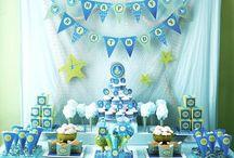 Sea/Ocean/Mermaid theme party / by Eva Prime