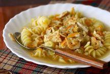 Chicken noodle soup / by Sarah Burnham