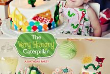 Emma's Very Hungry Caterpillar 1st Birthday  / by Leala McLaughlin