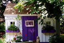 Carriage~Cottage~Guest & Greenhouses / by Style♦Dwell