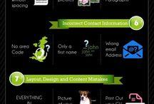 Resumes  / by SMCM Career Center