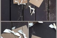 Gifting / brown paper packages tied up with string / by Stepford
