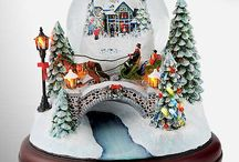 Snow globes / by Julie Bickford