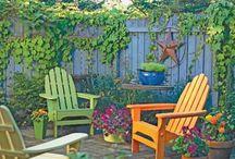 garden furniture  / by Tina Williams