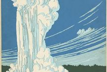 Vintage National Park Posters / by Jessica Bollinger