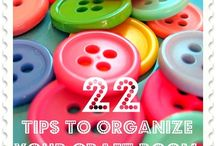 Organization - Crafts / As a home organization consultant I have organized MANY spaces and craft rooms top the list. Scrapbook area organization, organizing fabrics, craft and scrapbook supply organization tops the list.  / by Lisa @ Organize 365