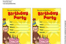 Curious George Birthday Party / by PBS Parents
